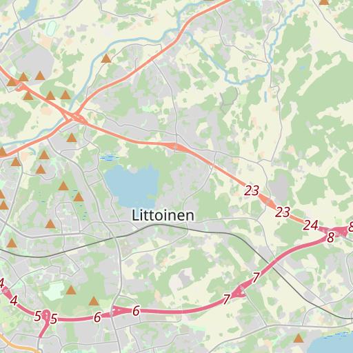 Kartta Etäisyys