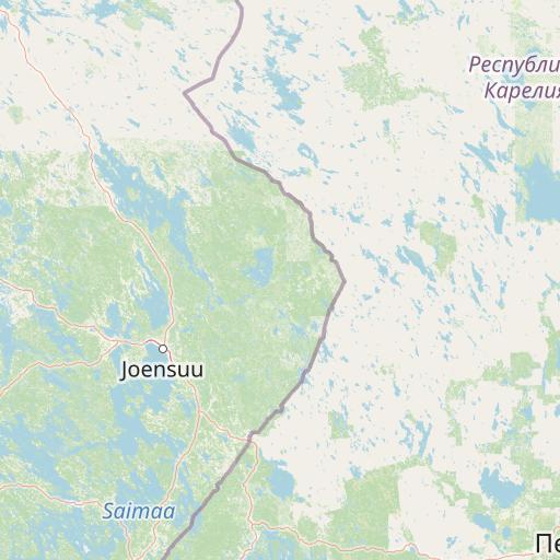 Kuopio, Joensuu kartta | Fonectan karttapalvelu